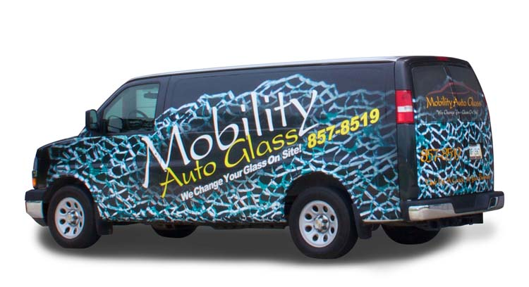 Our Mobile Auto Glass Van